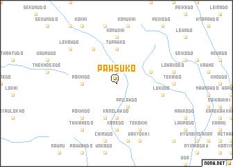 map of Pawsuko