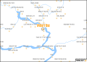 map of Pawyaw