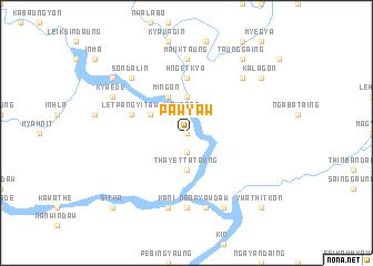 map of Pawyaw