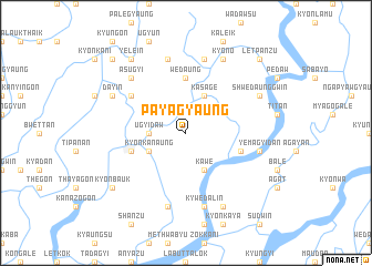 map of Payagyaung