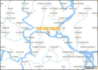 map of Payāgyaung