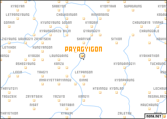 map of Payāgyigon