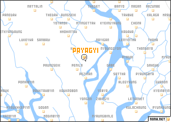map of Payagyi
