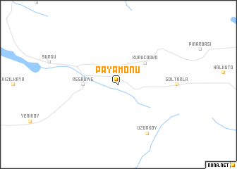 map of Payamönü