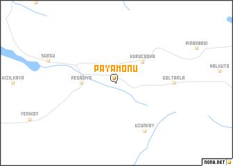 map of Payamönü