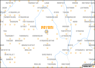map of Payani