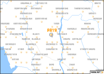 map of Paya