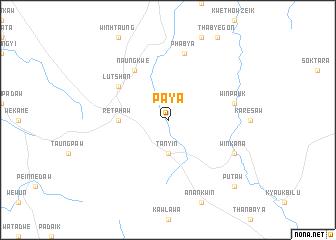 map of Paya