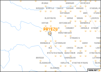 map of Payèzu