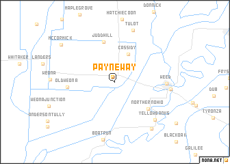 map of Payneway