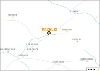 map of Pazelki
