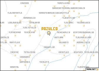 map of Pazulco