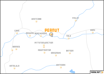 map of Peanut
