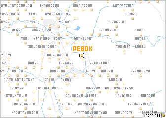 map of Pebok