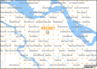 map of Pechot