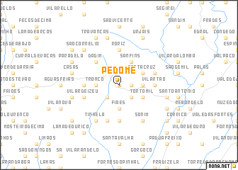map of Pedome