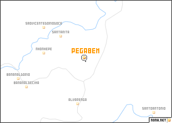 map of Pega Bem