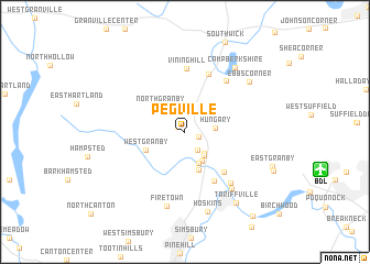 map of Pegville