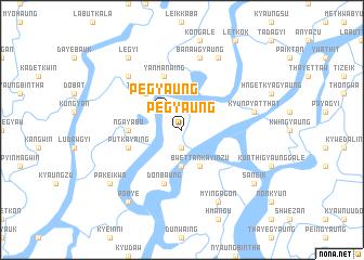 map of Pegyaung