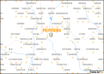 map of Peinnebu