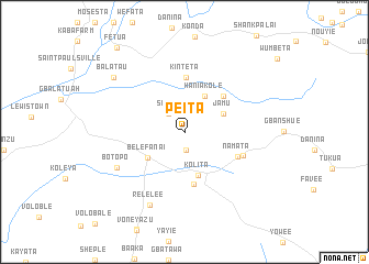 map of Peita