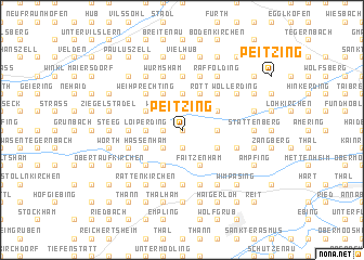 map of Peitzing