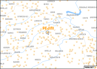 map of Pejini