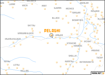 map of Peladhi
