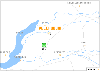 map of Pelchuquin