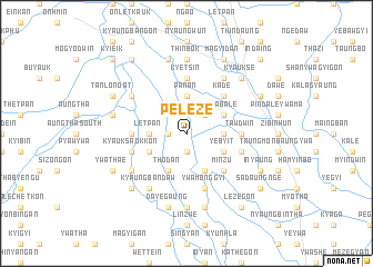 map of Peleze