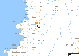 map of Pelid