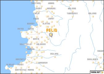map of Pelid