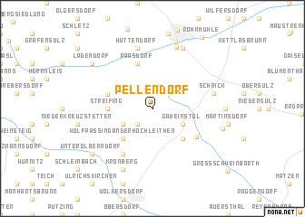 map of Pellendorf