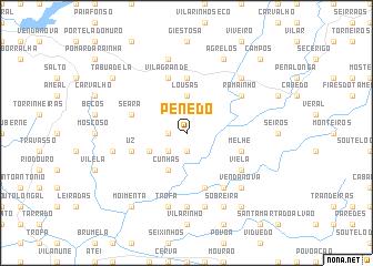 map of Penedo