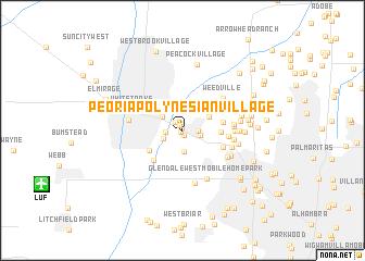 map of Peoria Polynesian Village