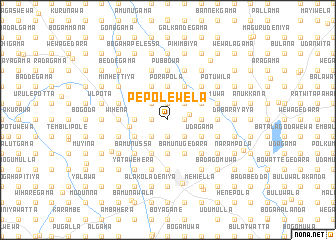 map of Pepolewela