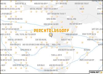 map of Perchtoldsdorf