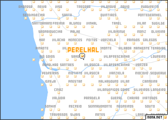 map of Perelhal