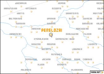 map of Perelozai