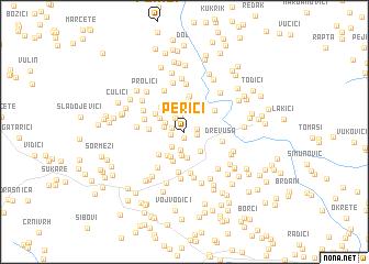 map of Perići