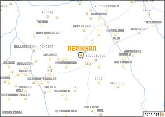 map of Perī Khān