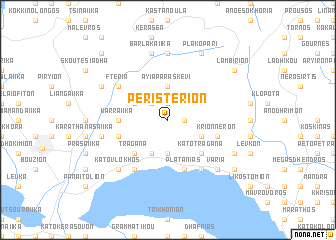 map of Peristérion