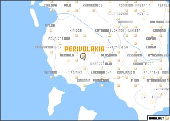 map of Perivolákia