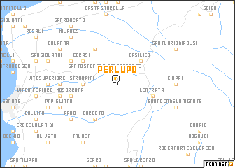 map of Perlupo