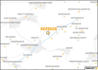 map of Perovka