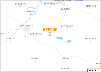 map of Perovo