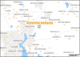 map of Perrins Crossing