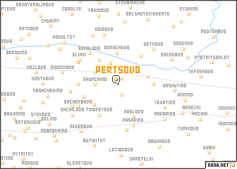 map of Pertsovo