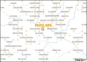map of Perulapa