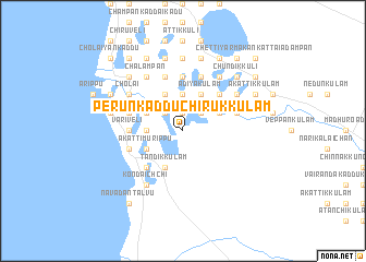 map of Perunkadduchirukkulam